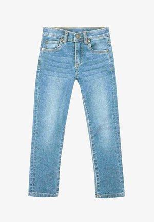 Straight leg jeans - azul claro