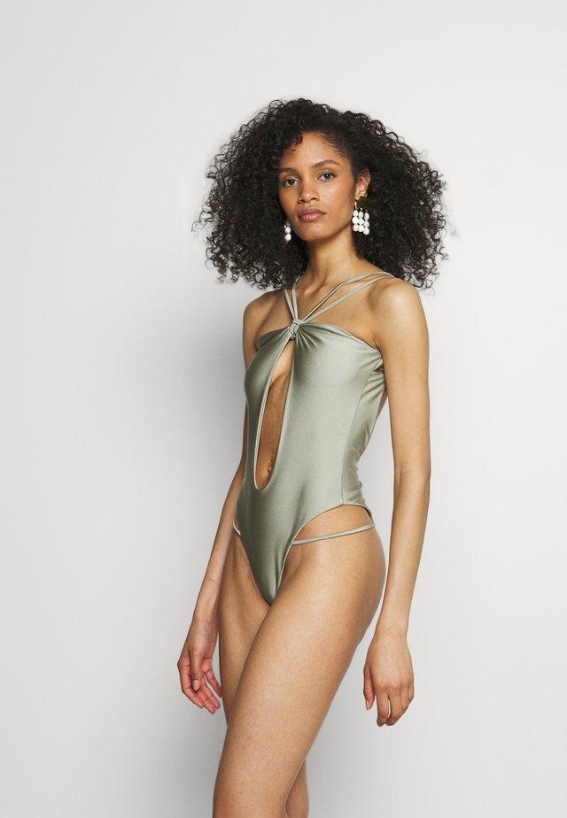LAYLA ONE PIECE - Swimsuit - granit