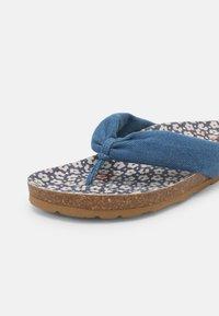 Pepe Jeans - OBAN TUBULAR - Sandály s odděleným palcem - azzurro - 7