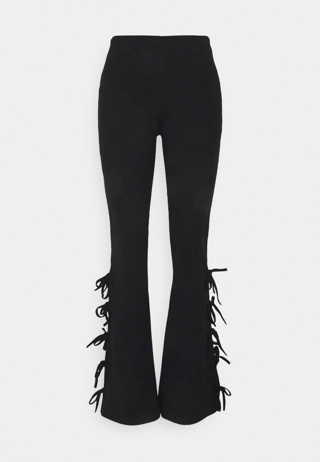 DUSK PANT - Pantaloni - black