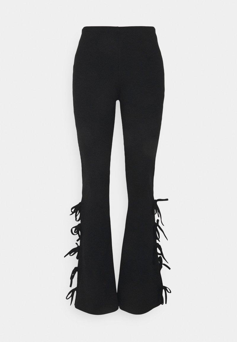 Milk it - DUSK PANT - Kalhoty - black