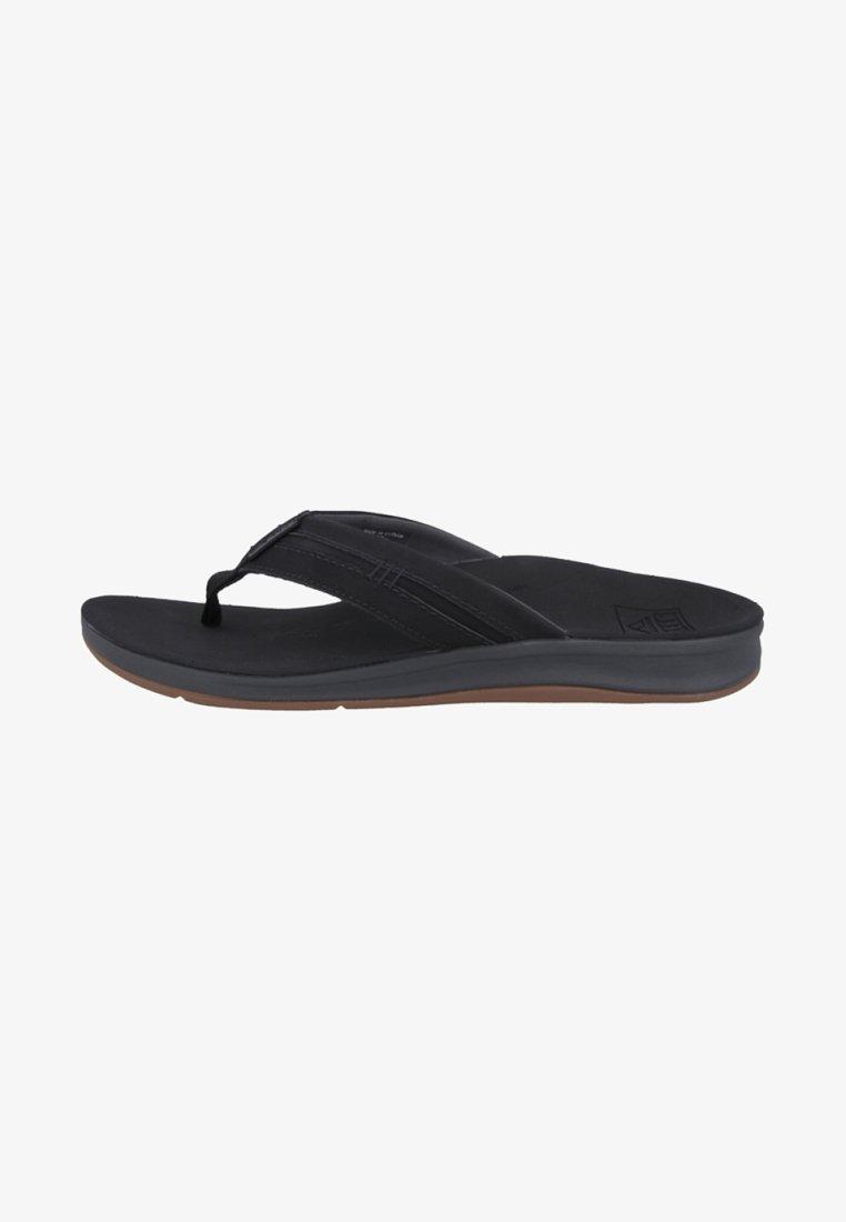Reef - Sandály s odděleným palcem - black