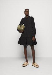 Bruuns Bazaar - HYACINTH JASLENE DRESS - Shirt dress - black - 1