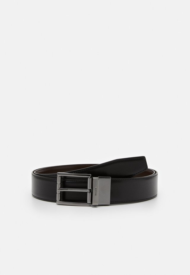 ASTOR - Skärp - black/chocolate