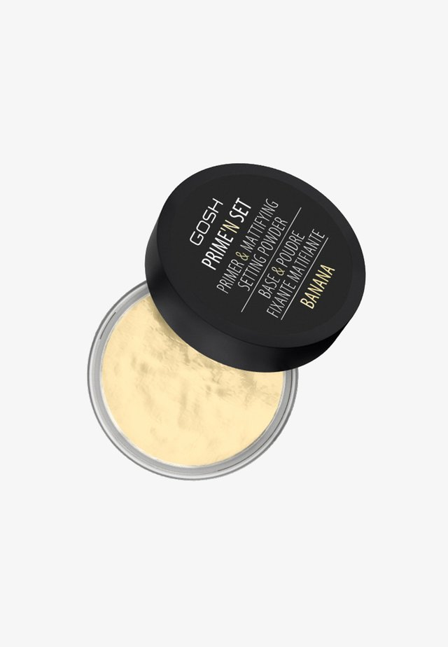 PRIME'N SET POWDER PRIMER & MATTIFYING SETTING POWDER - Baza - 002 banana