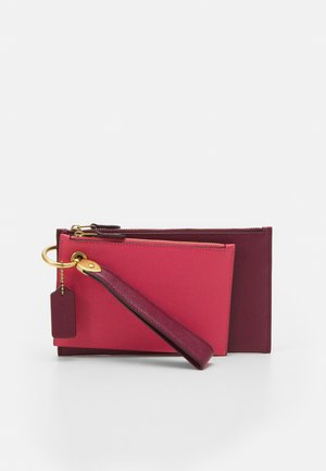 COLORBLOCK DOUBLE SLIM WRISTLET SET - Clutch - vintage pink/multi