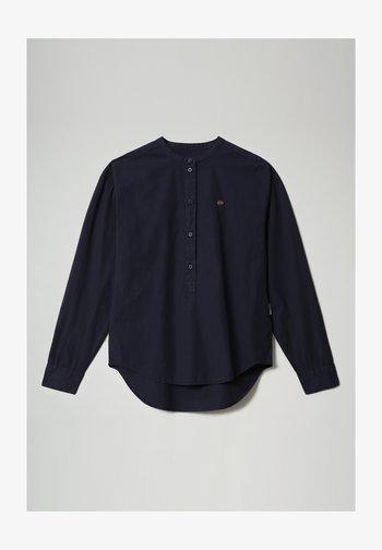 GHIO - Long sleeved top - blu marine
