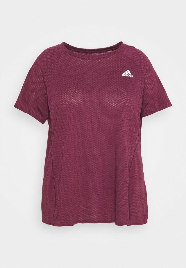 ADI RUNNER TEE - T-shirt basique - victory crimson