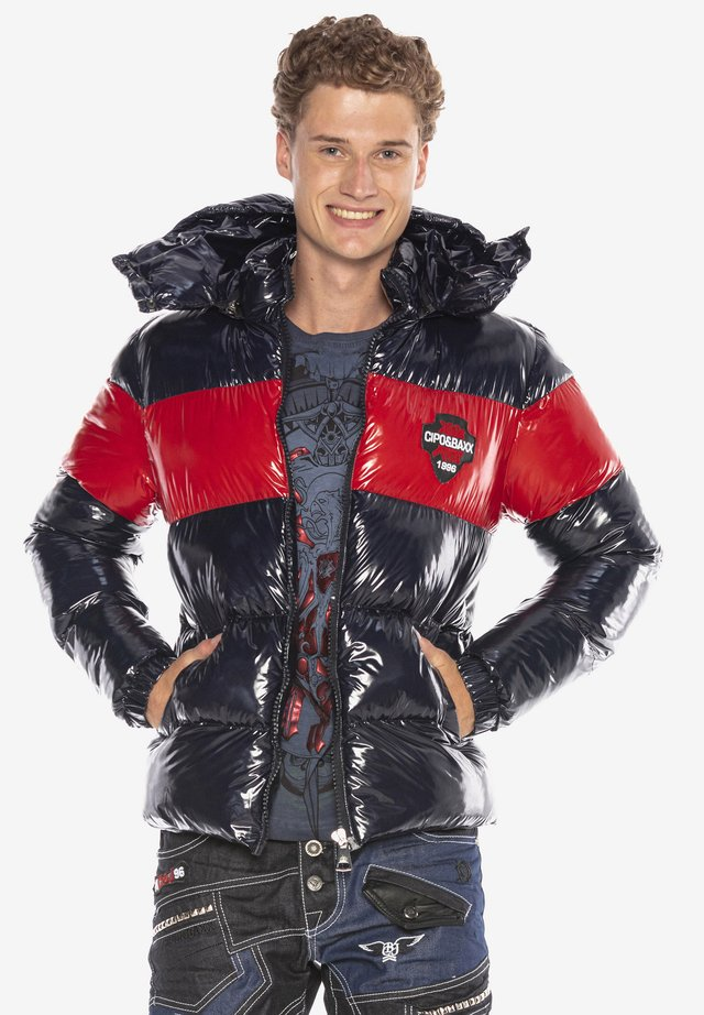 Winter jacket - navyblue