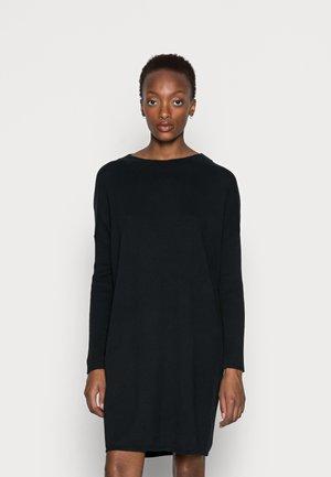 CORE DRESS - Neulemekko - black