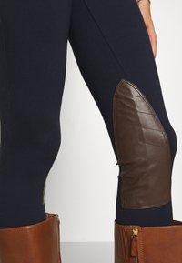 Lauren Ralph Lauren - ATHEDORA - Leggings - Trousers - navy - 3