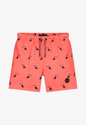 BOYS SWIMSHORT TUCAN - Badeshorts - neon orange
