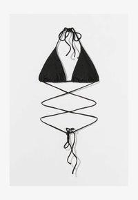 Bershka - Bikini top - black - 4