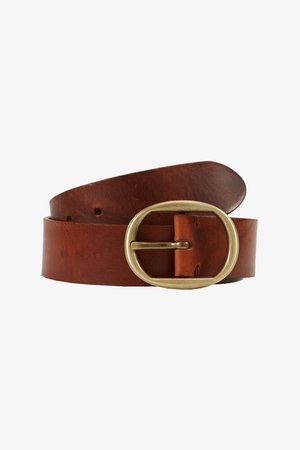 ELITE BELT - Belt - cognac