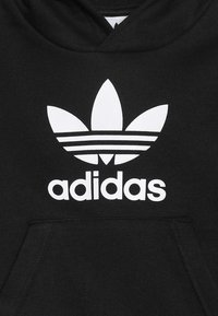 adidas Originals - TREFOIL HOODIE SET UNISEX - Dres - black/white - 5
