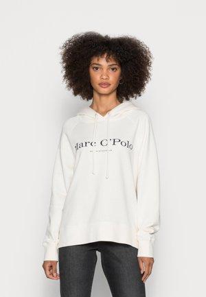HOODED LOGO - Sweatshirt - off white