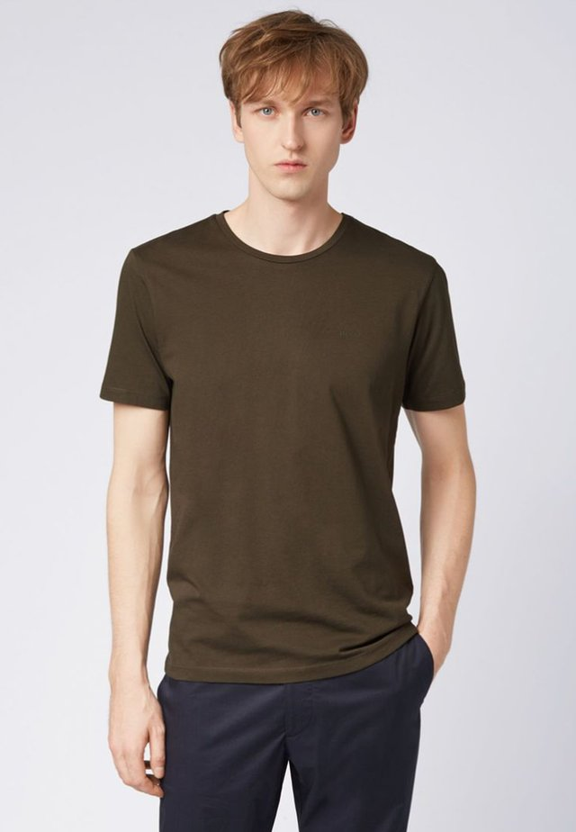 LECCO  - T-shirts basic - open green