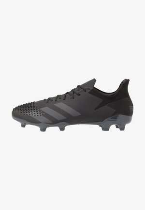 PREDATOR 20.2 FG - Moulded stud football boots - core black/dough solid grey