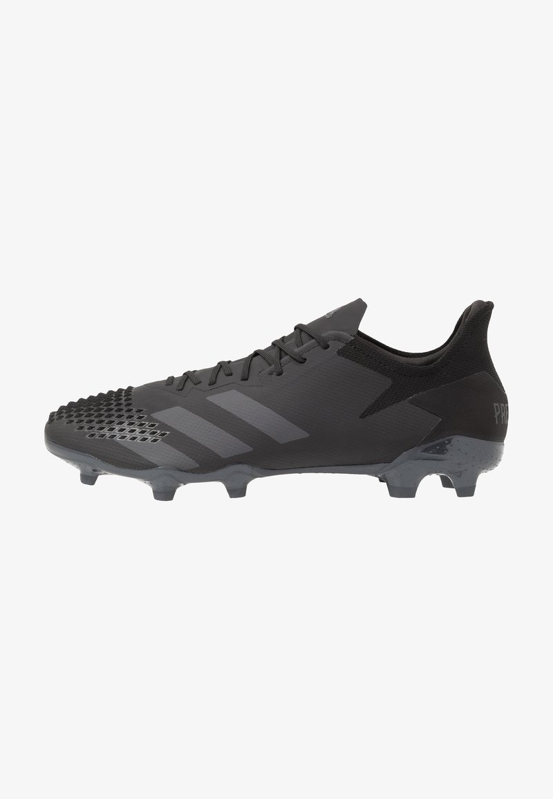 adidas Performance - PREDATOR 20.2 FG - Moulded stud football boots - core black/dough solid grey