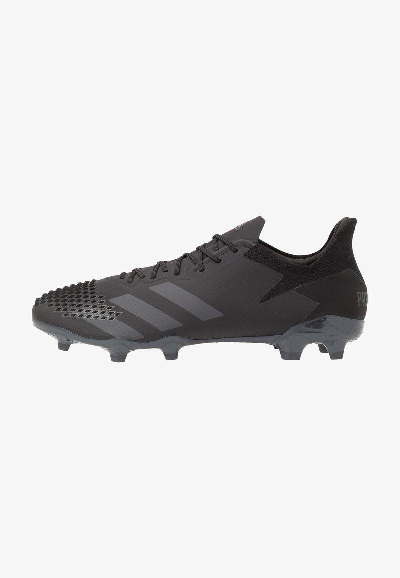 adidas Performance - PREDATOR 20.2 FG - Voetbalschoenen met kunststof noppen - core black/dough solid grey