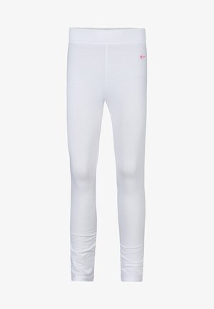 MEISJES  - Leggings - Trousers - white