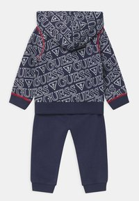 Guess - HOODED ACTIVE BABY SET  - Trainingsanzug - dark blue - 1