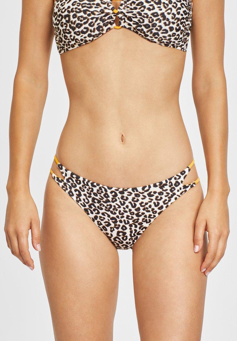 Buffalo - Bikini bottoms - braun-bedruckt