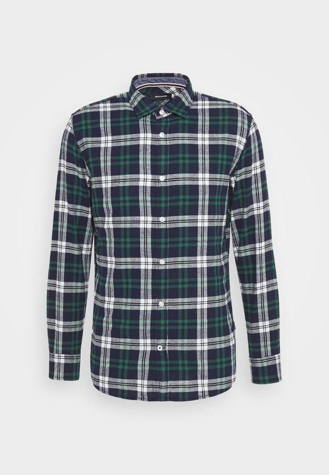 JJEWILL CHECK SHIRT  - Shirt - olive night