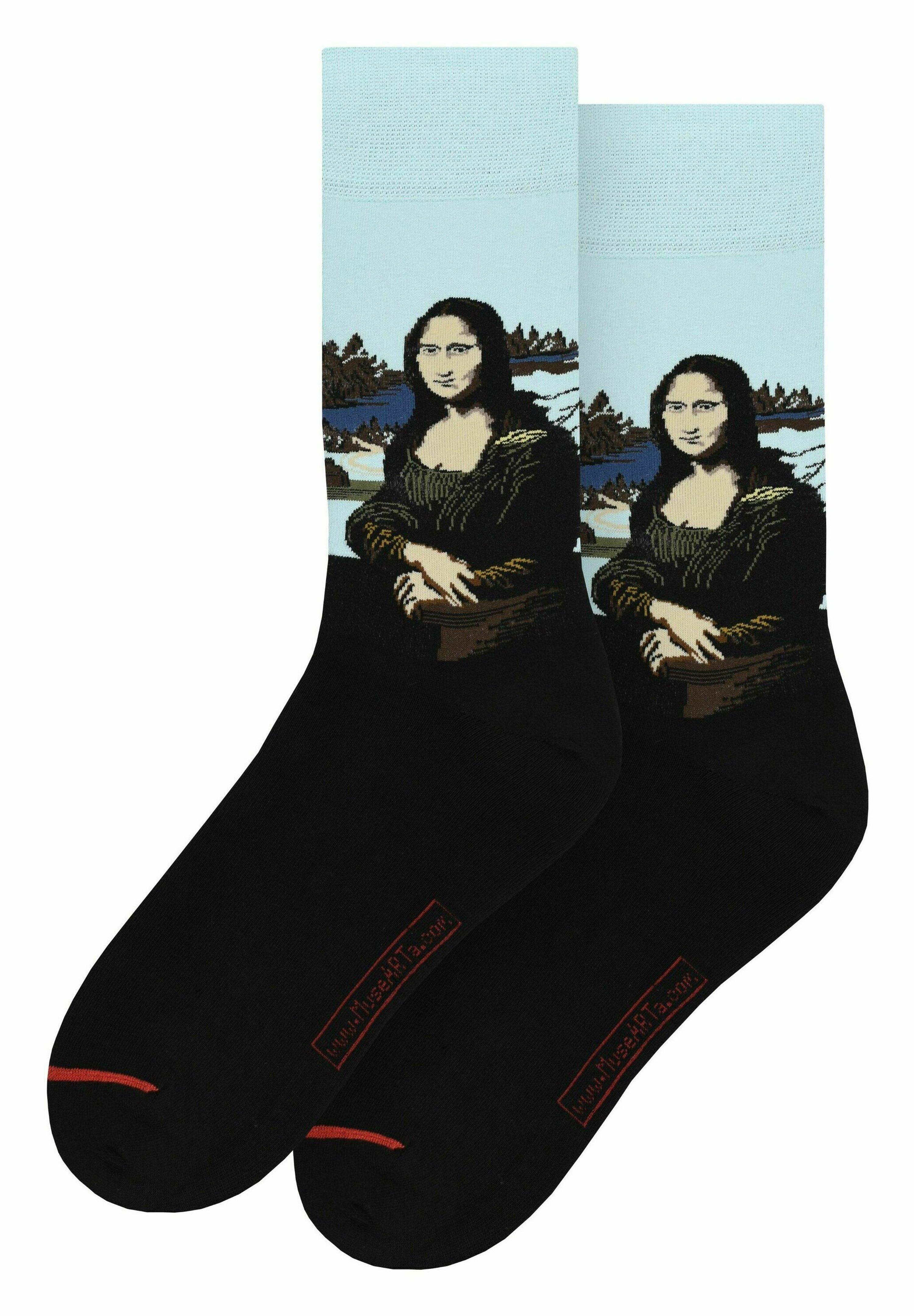 Mujer LEONARDO DA VINCI: MONA LISA - Calcetines