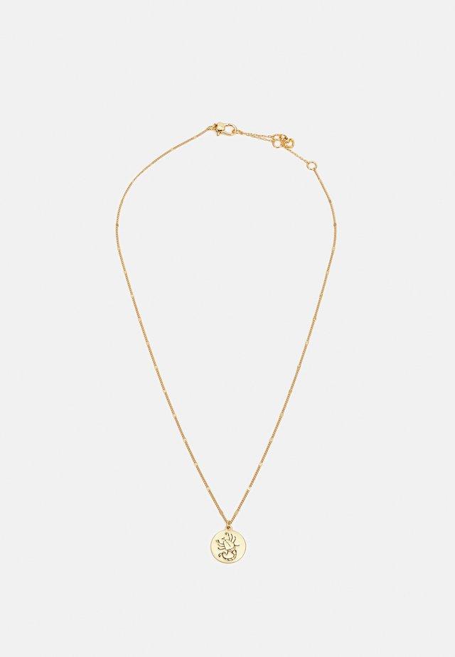 SCORPIO PENDANT - Collana - gold-coloured