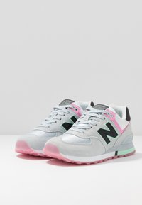New Balance - WL574 - Trainers - grey/pink - 4