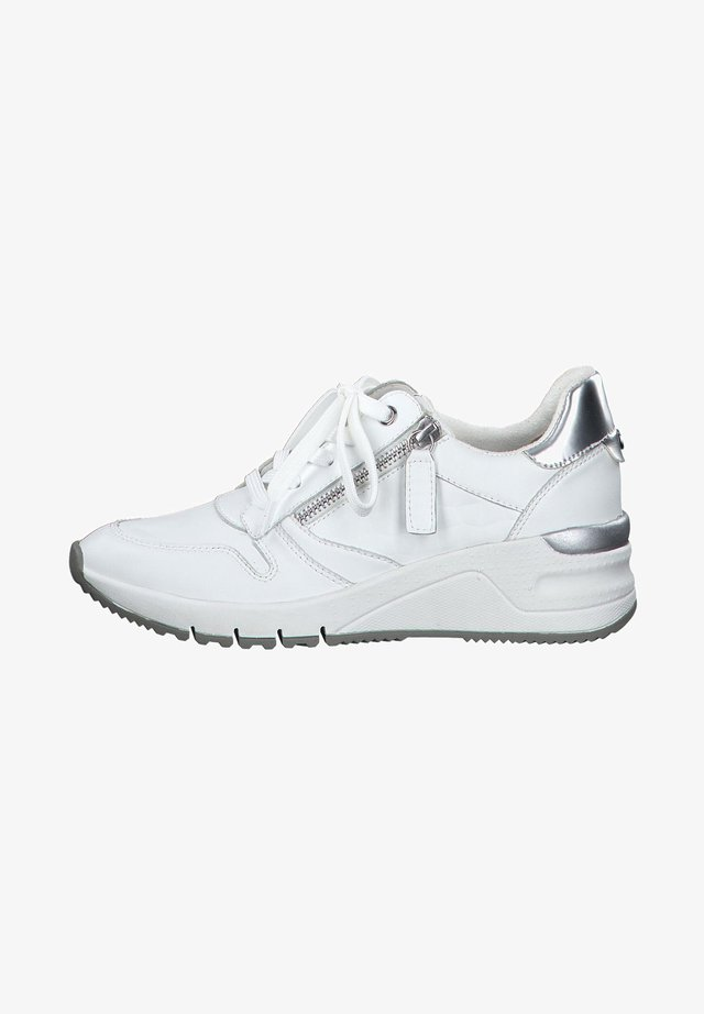 Sneakers laag - white uni