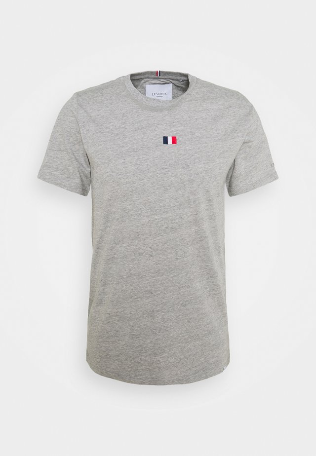 FLAG - T-shirt basique - grey melange
