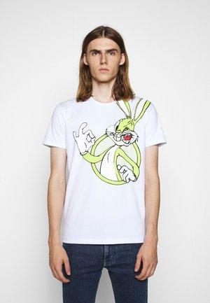 Print T-shirt - bianco ottico