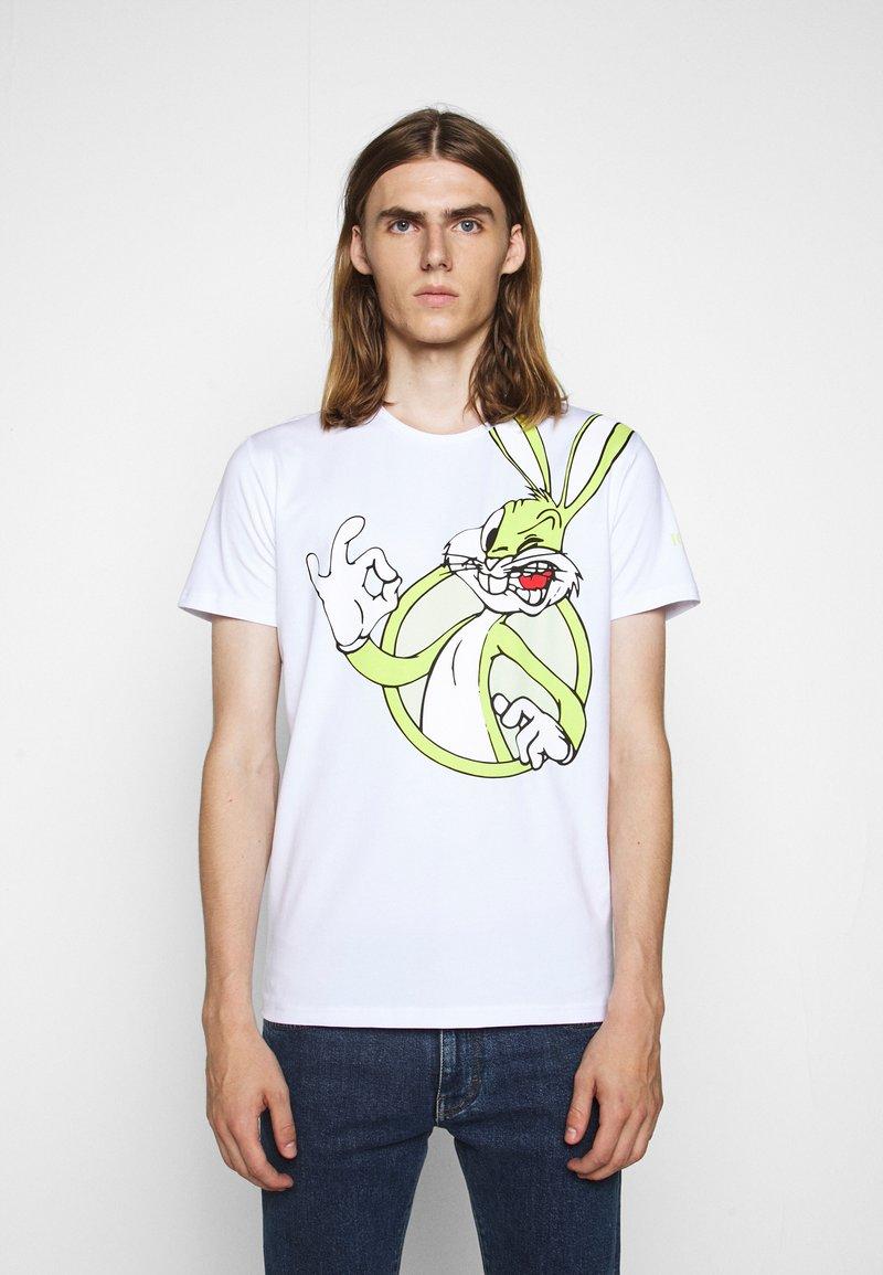 Iceberg - Print T-shirt - bianco ottico