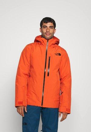 DESCENDIT JACKET - Ski jacket - burnt ochre