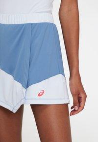 ASICS - A-snit nederdel/ A-formede nederdele - grey floss/soft sky - 3