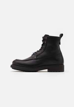 LACE UP BOOT - Schnürstiefelette - black