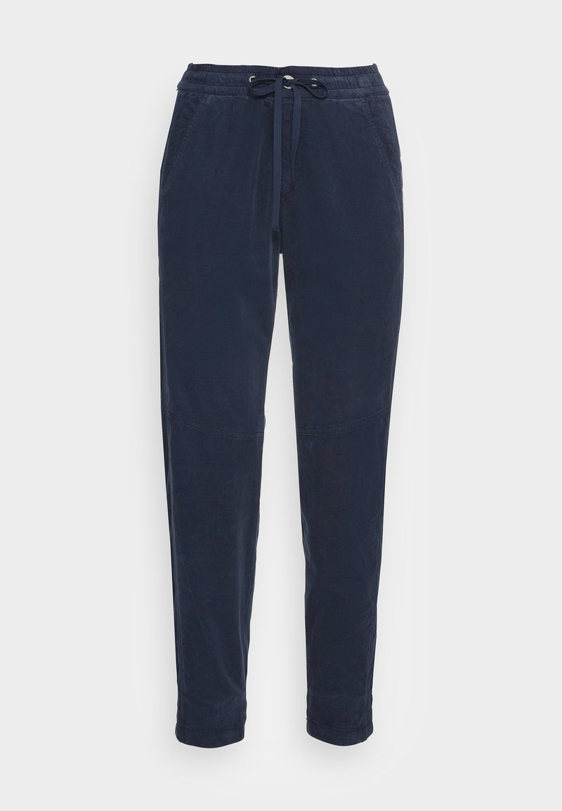 Marc O'Polo - RELAXED FIT ANKLE LENGTH MID WAIST CUTLINES 5 POCKET - Tracksuit bottoms - breezy sea