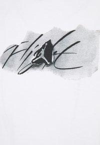 Jordan - BRAND CREW - Maglietta a manica lunga - white/black - 2
