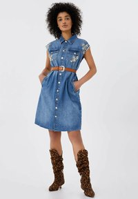 Liu Jo Jeans - Robe en jean - blue denim - 1