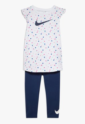 DOT TUNIC SET BABY - Leggings - Trousers - blue void