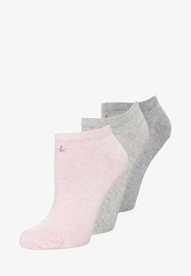 LOGO SNEAKER 3 PACK - Socken - mottled rose