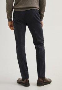 Massimo Dutti - Suit trousers - blue - 2