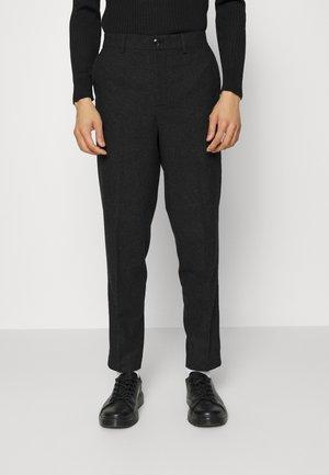 SLHSLIMTAPE LOUIS CLAY - Spodnie materiałowe - antracit