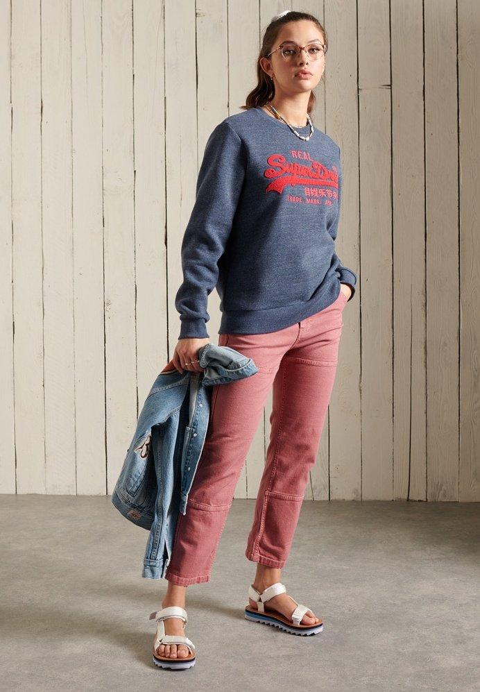 Women SUPERDRY VINTAGE LOGO CHENILLE - Sweatshirt