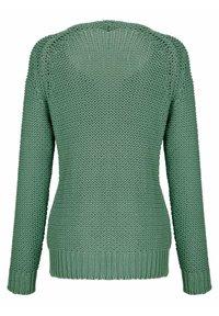 Dress In - Cardigan - salbeigrün - 5