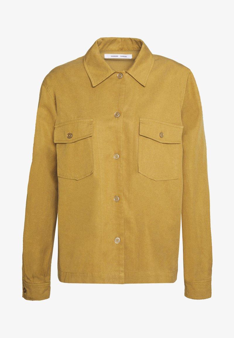 Samsøe Samsøe - SUKARI  - Summer jacket - dijon
