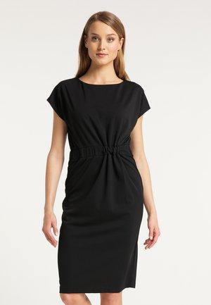 DREIMASTER ETUIKLEID - Shift dress - schwarz