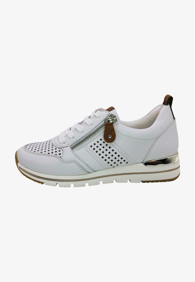Sneakers laag - weiß kombi
